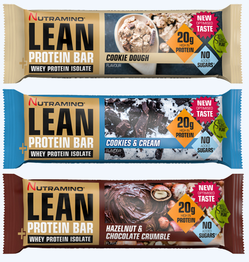 Nutramino lean protein bar 60 g sportnutrition for Food and bar jine forbach