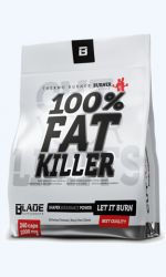BS 100% Fat killer 1000 mg 120 kapslí