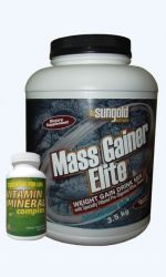 Mass Gainer Elite 3,5kg + Vitamin and Mineral complex 100tbl. vyprodáno