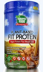 Nature´s Food Plant-Based Fit Protein 800 g