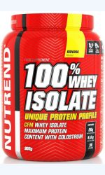 NUTREND 100% whey isolate 900 g