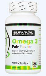 Survival Omega 3 fair power 100 tablet