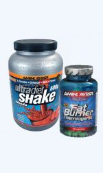 Thermogenic fat Burner 90cps a Ultra Diet Shake 500g vyprodáno!
