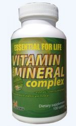 Vitamin and Mineral Complex 100 tab vyprodáno