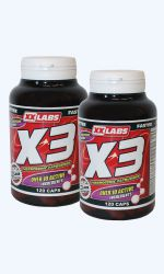 AKCE X3 Fat Burner 120cps+120cps