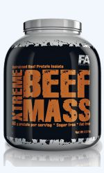 XTREME BEEF MASS 2,5kg Fitness Authority