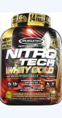 MuscleTech Nitro-Tech 100% Whey Gold 2270g + 20% ZDARMA